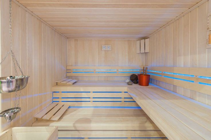 Intérieur du sauna Design !