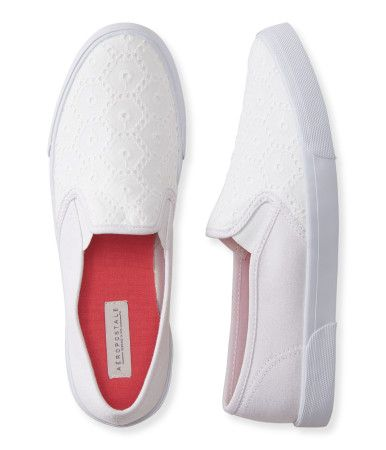 Eyelet Slip-On Deck Shoe -