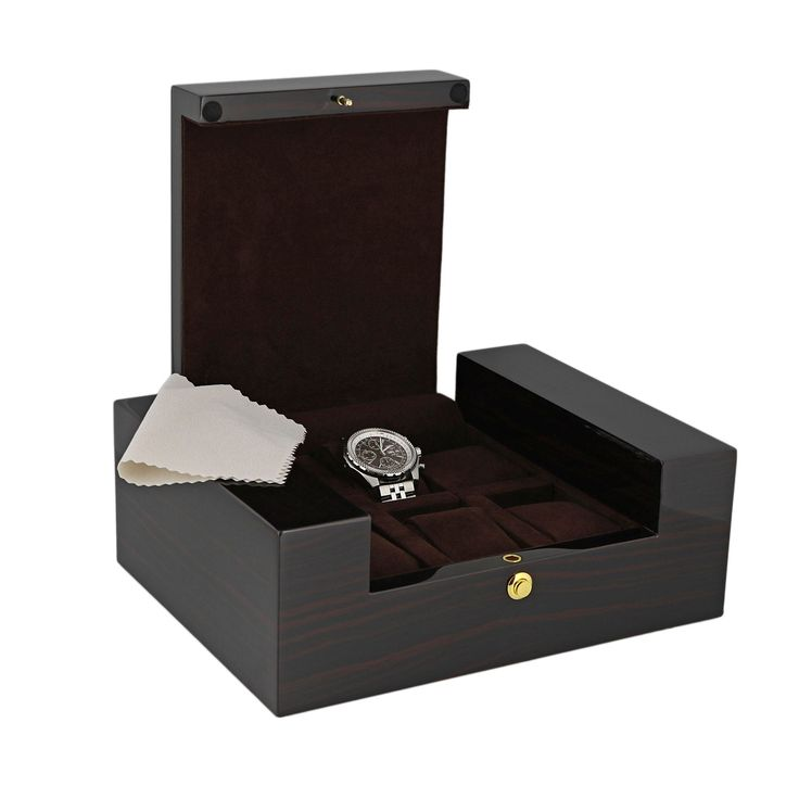 High Quality 6 Watch Box  with Ebony Veneer  the Fortis Collection by Aevitas *    * About Us  * Payment  * Delivery  * Returns  * Contact Us  Show Menu * Watch Boxes  * Watch Winders  * Jewellery Boxes  * Stackers  * Gifts For Him  * Gifts For Her  * Other Items   *   *   *   *    *   *   *   *   HIGH QUALITY 6 WATCH BOX WITH EBONY VENEER THE FORTIS COLLECTION BY AEVITAS Product Details:  These are some of the best watch boxes we have for Quality, Design and Value. The Fortis Collection…