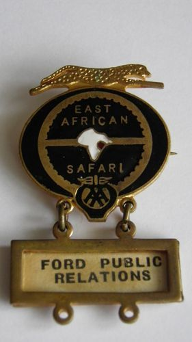 East African Safari Rally - Ford Public Relations