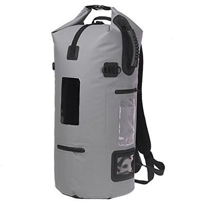 a3de81ff78 ESONE Roll Top Waterproof Backpack Dry Bag for Boating Kayaking Fishing  Rafting (eBay Link)