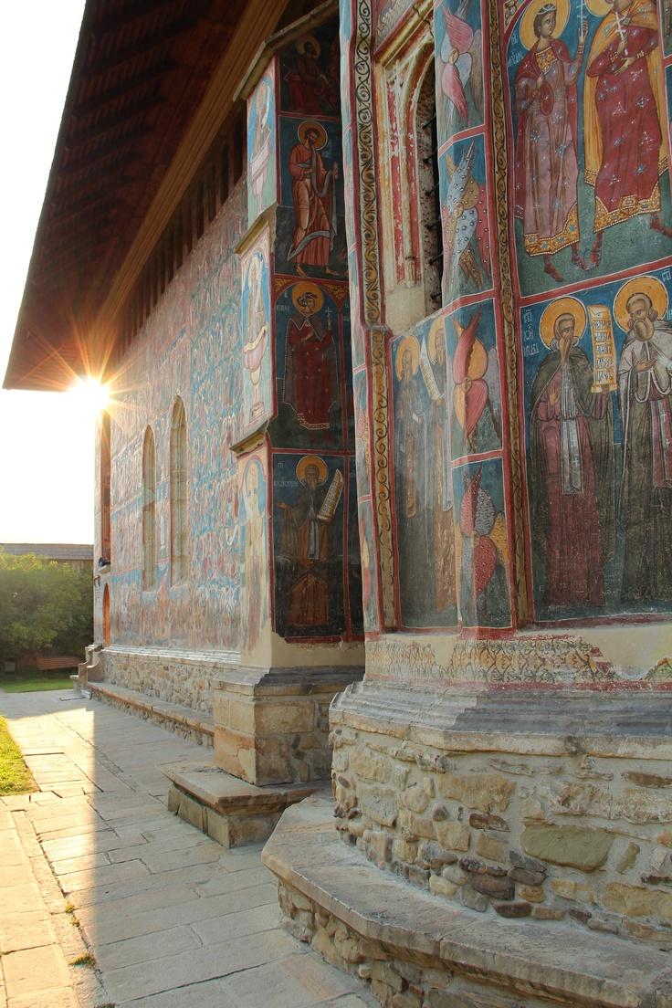 Painted monasteries of Bucovina, Romania