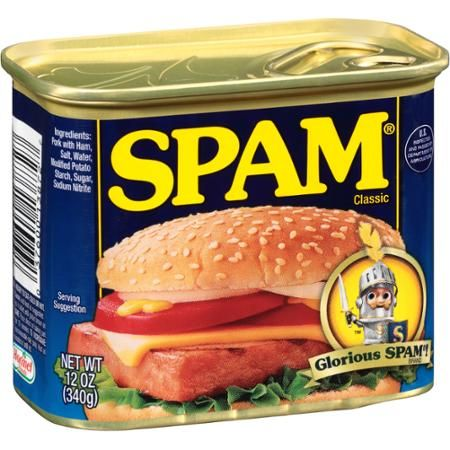 Spam Canned Meat, 12 oz - Walmart.com