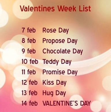 Download Happy Valentines Week List, Chart 2015, Whatsapp Status, Messages, Wallpapers, Facebook Wishes, Sayings, Greetings, DP, SMS, HD Pictures, 14 Feb