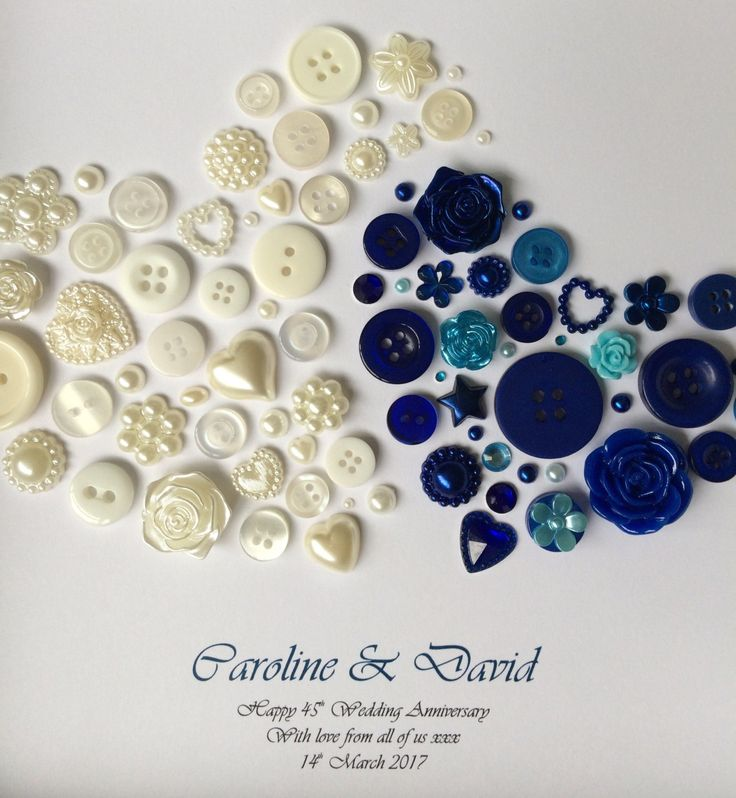 45th Anniversary Wedding Sapphire