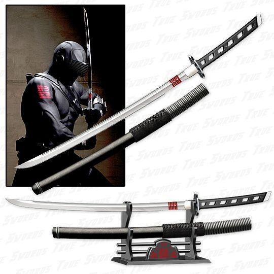 GI JOE - Snake Eyes Katana Sword Replica - Rise of Cobra