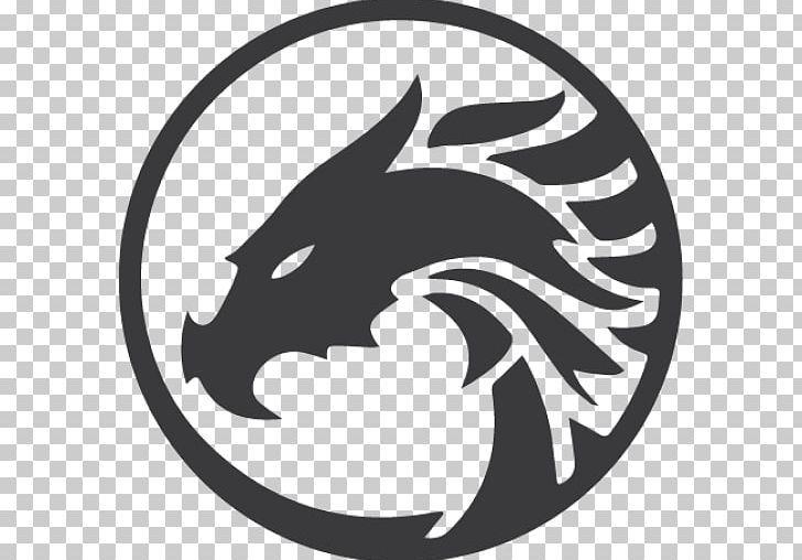 Logo Dragon Graphic Design Png Black Black And White Carnivoran Cat Cat Like Mammal Logo Dragon Logo Design Art Cat Logo Design