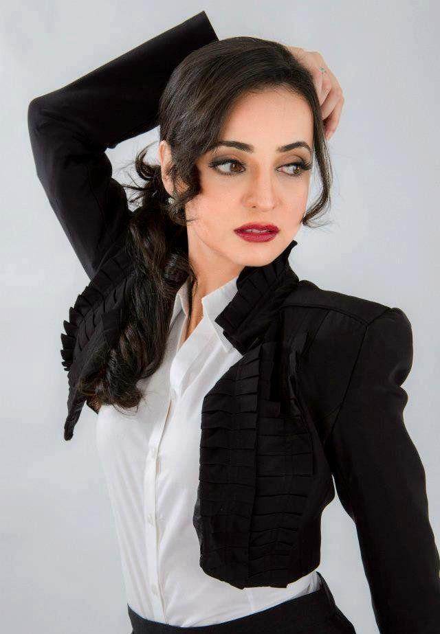 Sanaya Irani Modeling Photo