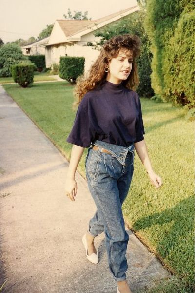 Roll It – Roll it Good: T-shirts, Jean Jackets and Pegged Jeans of the 80s