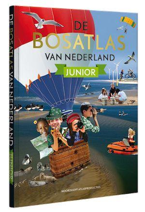 Ontdekkingstocht door eigen land met de nieuwe Bosatlas voor kinderen. Met de leukste weetjes, gekste namen, beste zwem- en schaatsplekken en nog veel meer!