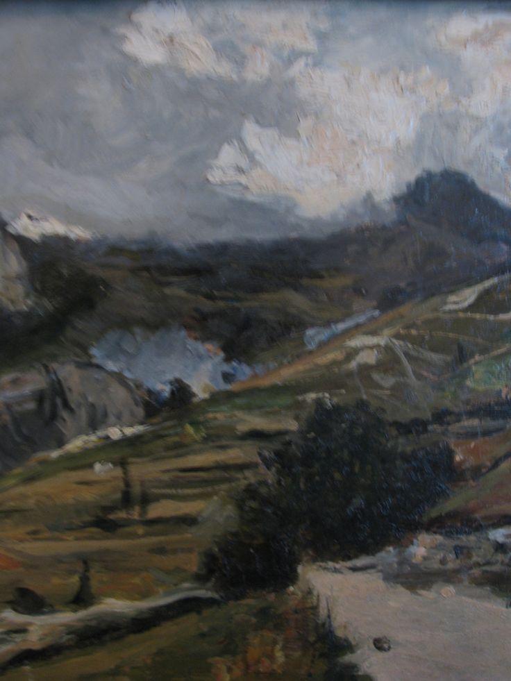Lorenzo Delleani Paesaggio di Montagna 1889