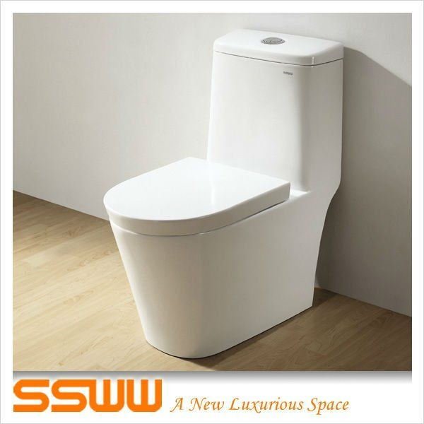 American Standard One Piece Siphonic Toilet For The Elderly