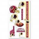 Washington Redskins Temporary Tattoos | #Washington #DC #WashingtonDC #Redskins #WashingtonRedskins #Memorabilia #Sports #Merchandise #Football #NFL | Order Today At www.sportsnutemporium For Only $1.95