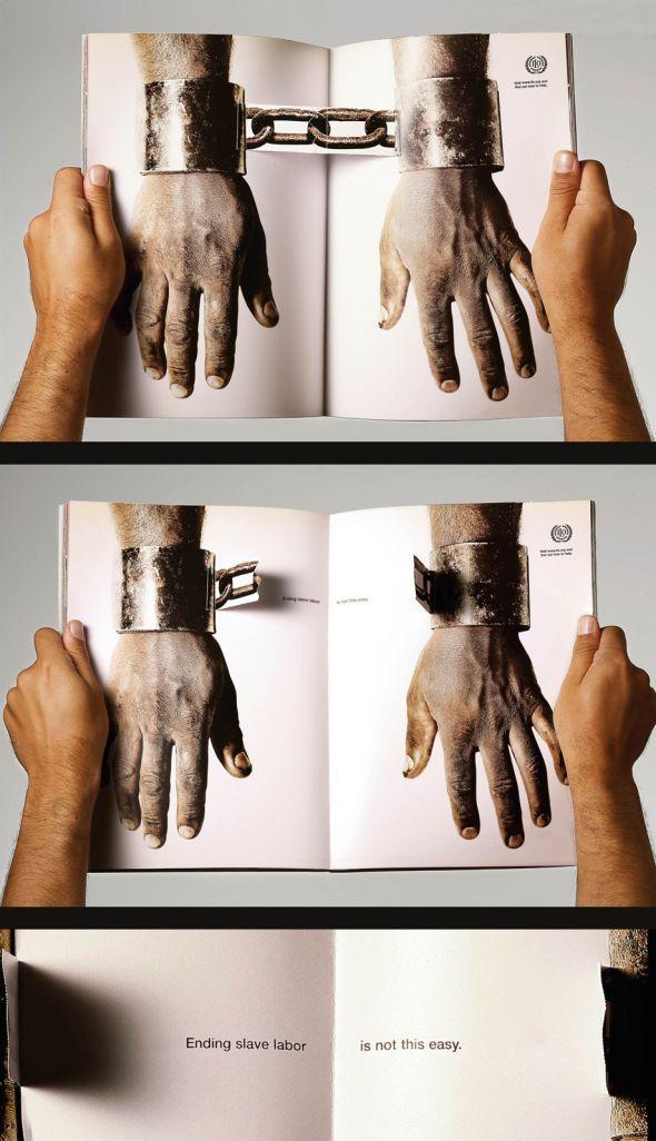 ILO (International Labour Organization): Handcuffs