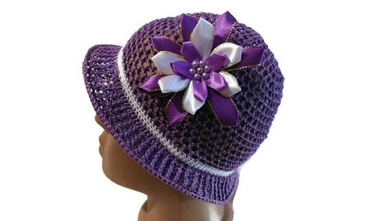 шапочка крючком, шапочка для девочки, вязаная шапочка,детская шапочка, летняя шапочка, красивая шапочка, ажурная шапочка