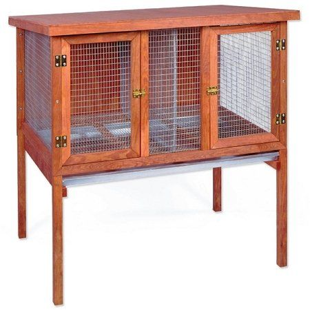 Domestic Pet Heavy Duty Double Rabbit Hutch Partner ** Want additional info? Click on the image.