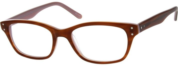 Nerd Glasses Zenni Optical : Acetate Full-Rim Frame 639235 Models, Sunglasses and Brown