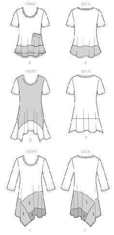 Sew Flattering Asymmetrical Hemlines using McCalls M7413 by Nancy Zieman   Nancy Zieman Blog