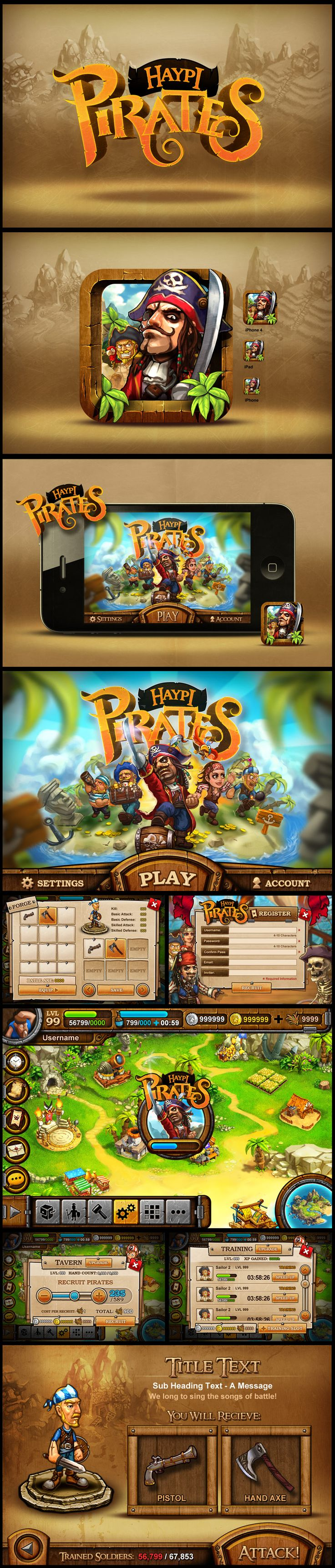 http://www.fullyillustrated.com/ Haypi Pirates (Kingdom of Pirates)