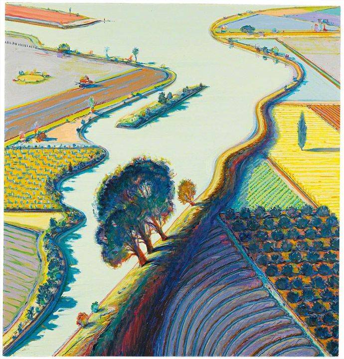 Уэйн Тибо. Island River Farms, 1997