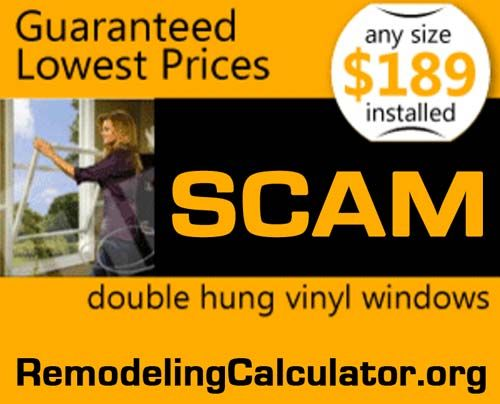 Replacement Windows Prices - How Much New Windows Vinyl Really Cost