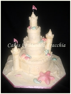 TORTA DECORADA PARA 15 AÑOS - CASTILLO DE ARENA | TORTAS CAKES BY MONICA FRACCHIA
