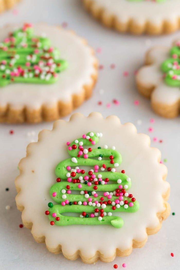 Glasur Weihnachtsplätzchen.1001 Originelle Ideen Wie Sie Plätzchen Verzieren