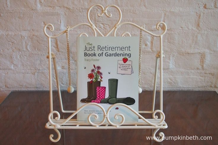 Read my review of The Just Retirement Book of Gardening by Tracy Foster at www.pumpkinbeth.com
