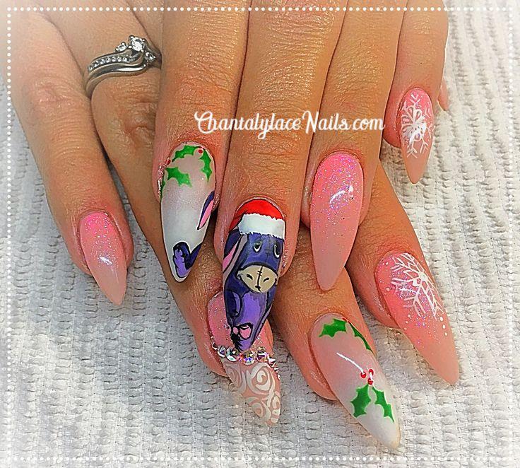 Christmas Eeyour /Eeyour design/Disney Nail Art