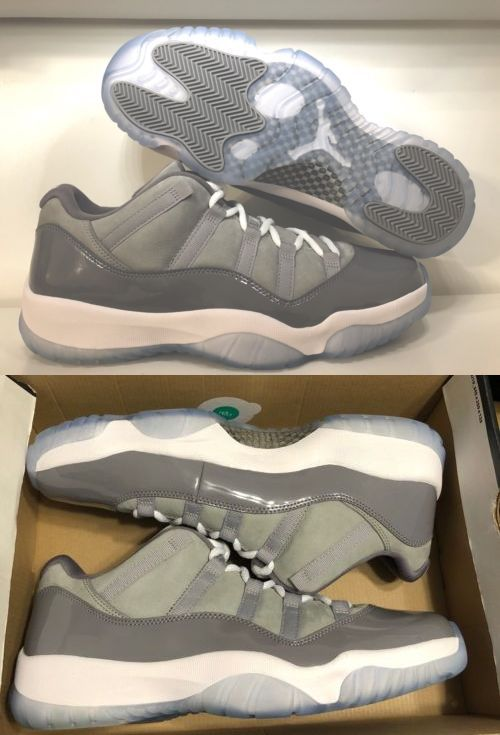 Clothing Shoes and Accessories 158963  Jordan Retro 11 Mens 12 Cool Grey  Low -  BUY IT NOW ONLY   184.89 on eBay! 1758ae482