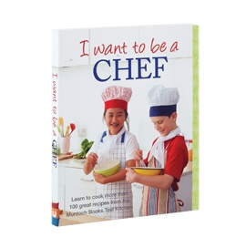 Victoria's Basement, 'I Want To Be A Chef' Cookbook, $10, Shop B, Lower Ground, QVB.
