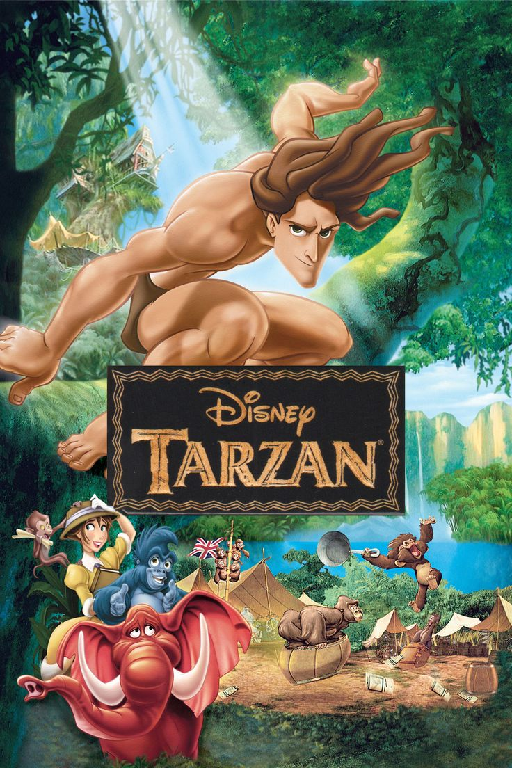 click image to watch Tarzan (1999)