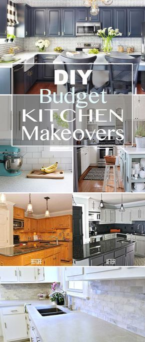 about budget kitchen makeovers on pinterest cheap kitchen makeover