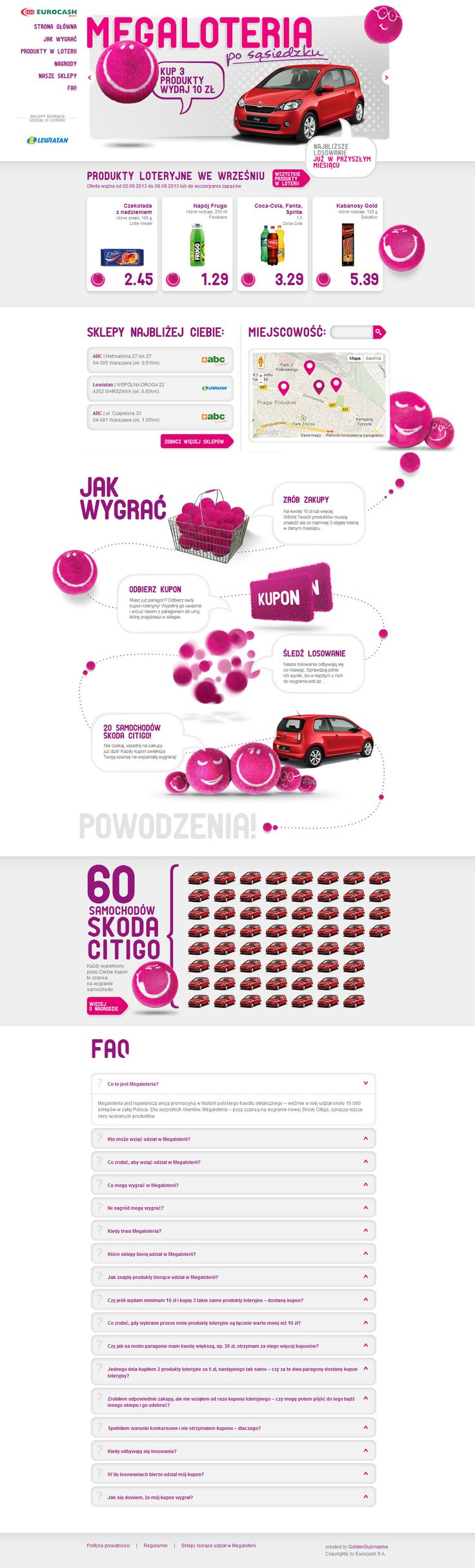 Responsive web design www.megaloteria.tv - www