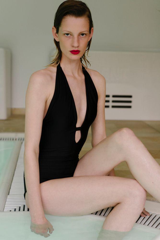 Swimsuit No.3 with Ilvie Wittek #VeronicaDreyer #Swimwear #IlvieWittek
