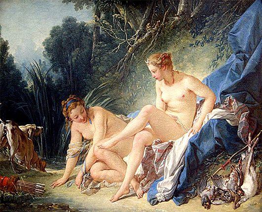 Resultado de imagen de françois boucher 1742