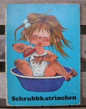 DDR Kinderbuch: Schrubbkatrinchen