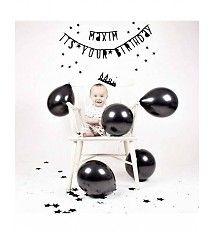 A little lovely company Zwarte ballonnen