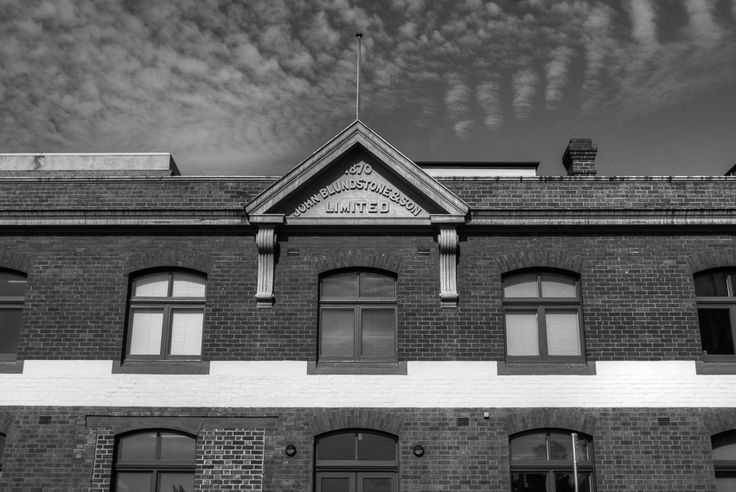 The old Blundstone boot factory.  Tips on #blackandwhitephotography here  http://aviewfinderdarkly.com.au/2016/07/13/black-and-white-photography/
