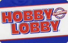 Don't pay full price for Hobby Lobby gift cards! Save money & earn reward points towards FREE Gift Cards in the process, only at Gift Card Granny.