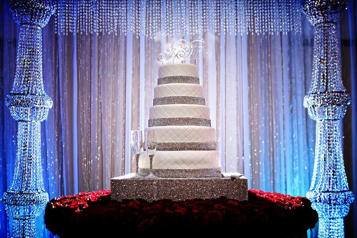 Backdrop For Wedding Cake Table