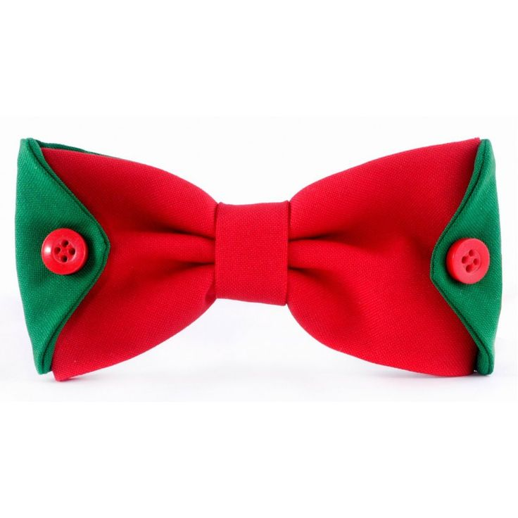 Галстук-бабочка Bow Tie Collection арт.307 red-green
