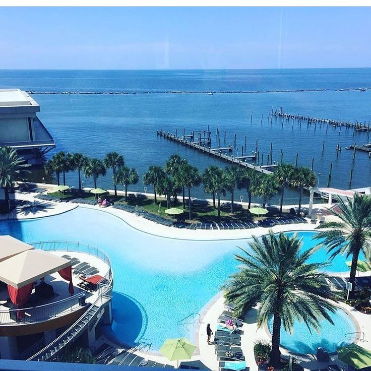 Beautiful View From The Hard Rock In Biloxi Mississippi
