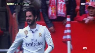 Isco Alarcon Winning Goal – Sporting Gijon vs Real Madrid 2-3 – La Liga 15/04/2017 HD -  Click link to view & comment:  http://www.naijavideonet.com/video/isco-alarcon-winning-goal-sporting-gijon-vs-real-madrid-2-3-la-liga-15042017-hd/