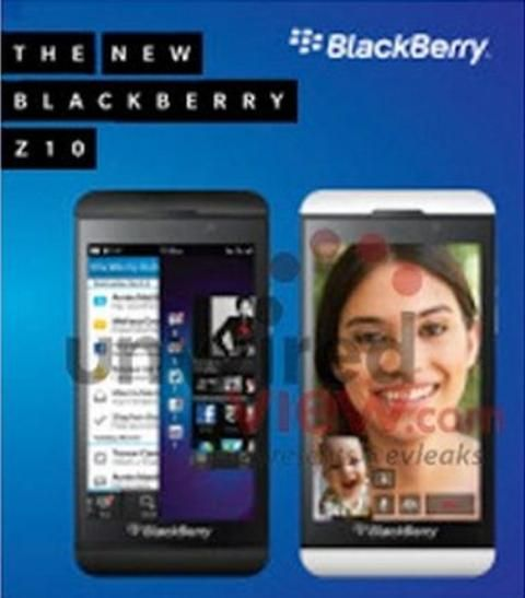 Leaked Screenshot Says First BlackBerry 10 Is Called BlackBerry Z10 - A leaked screenshot says, the first BlackBerry 10 phone is called BlackBerry Z10. It will be unveiled on January 30, and will be available in both black and white. [Click on Image Or Source on Top to See Full News]