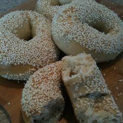 Sesame Seed Bagels Allrecipes.com