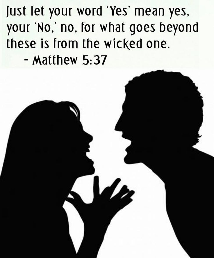 Jesus said......Matthew 5:37 www.jw.org
