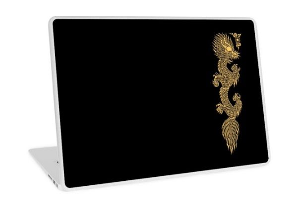 Gold Dragon Mustache shenlong Laptop Skins #LaptopSkins #laptop #skin #artstyle #Photography #Digitalmanipulation #animal #beast #monster #gorilla #dragon #goku #vegeta #saiyan #supersaiyan #cyborg #anime #manga #cartoon #TVseries #movie