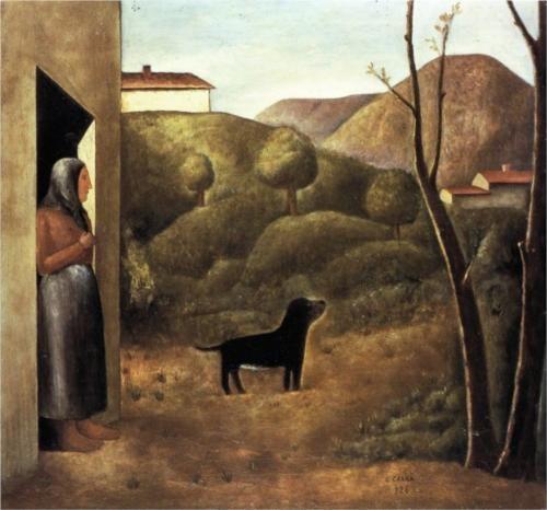L'attesa - Carlo Carra