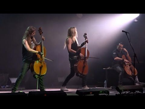 Apocalyptica Plays Metallica - Live @ Crocus City Hall, Moscow 23.04.2017 (Full Show) - YouTube